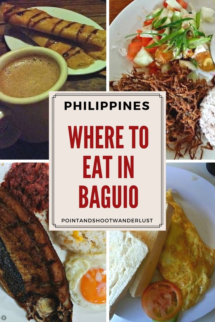 Where to eat in Baguio? Check out these affordable and popular restaurants in the City of Pines. | Philippines | Baguio food | What to eat Baguio | 50s diner | Cafe Sabel | Good Taste | Chocolate de Batirol | #Baguio #Philippines