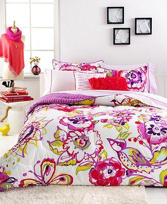 Seventeen Mariposa 3 Piece Full Queen Comforter Set Bed In A Bag