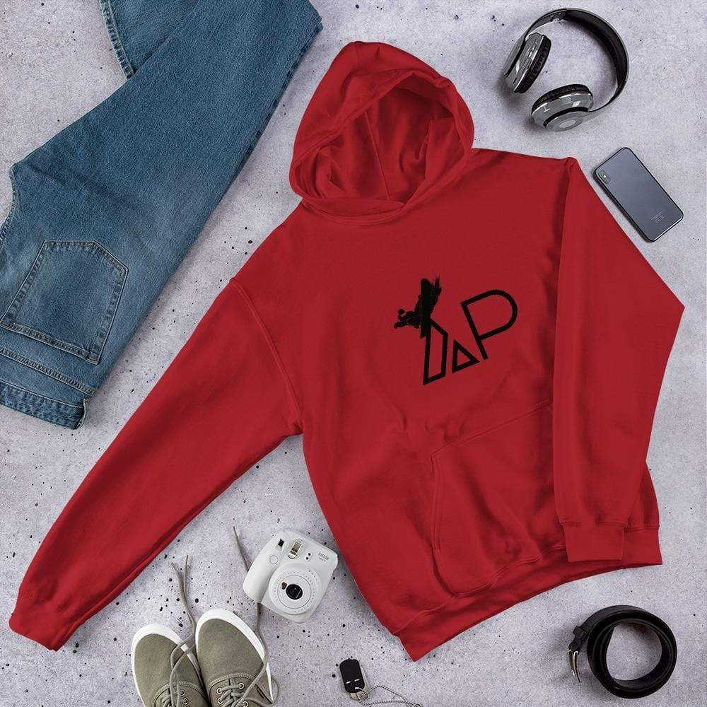 Rise and Grind Hoodie – Red / XL