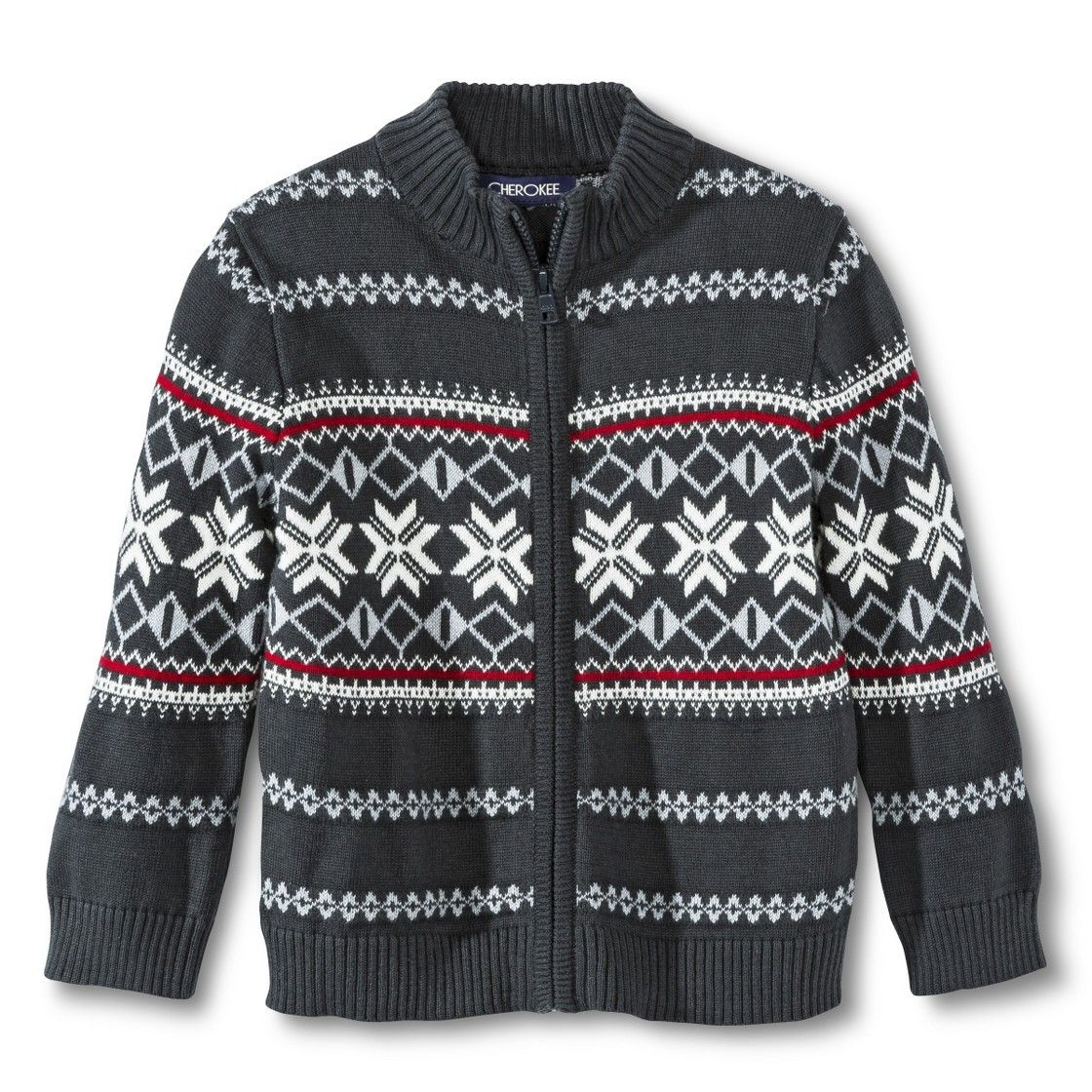 Infant Toddler Boys' Fair Isle Zip-Up Sweater | cute toddler boy ...