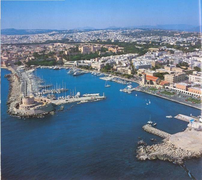 Mandraki harbour