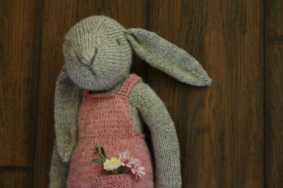 Thread Bears Claire The Hare Knit Pdf Pattern Instant Download