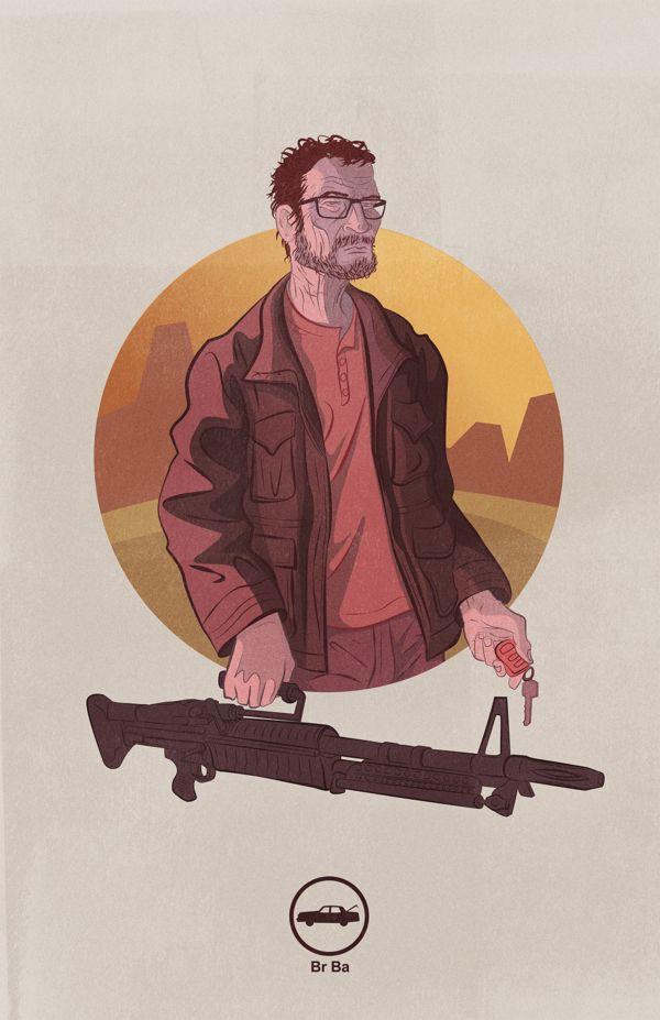 Mr Lambert On Behance Breaking Bad Breaking Bad Art Ipod Wallpaper
