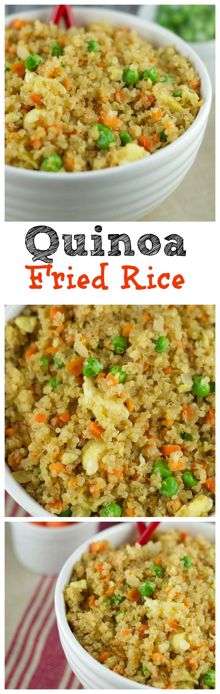 Quinoa fried rice recipe quinoa veggies and recipes this quinoa fried recipe requires only 10 minutes to make and its so delicious fresh ccuart Gallery