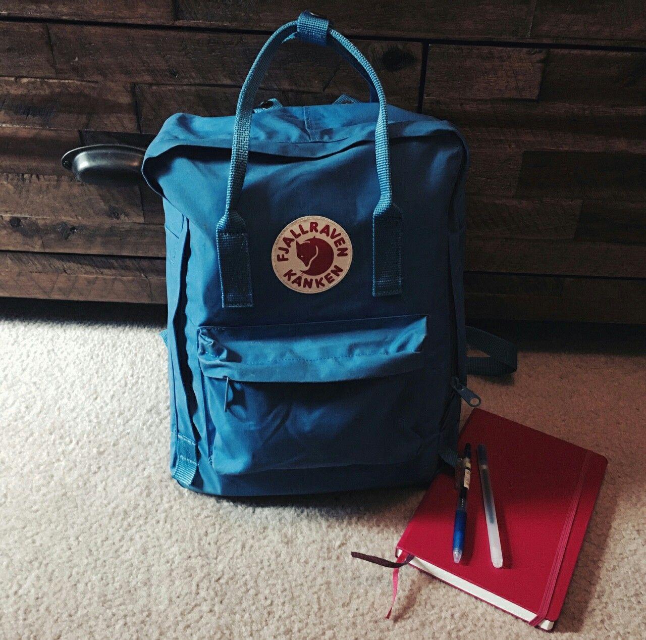 01bc48d7c kanken un blue | fjallraven kanken | Kanken backpack, Backpacks, Blue
