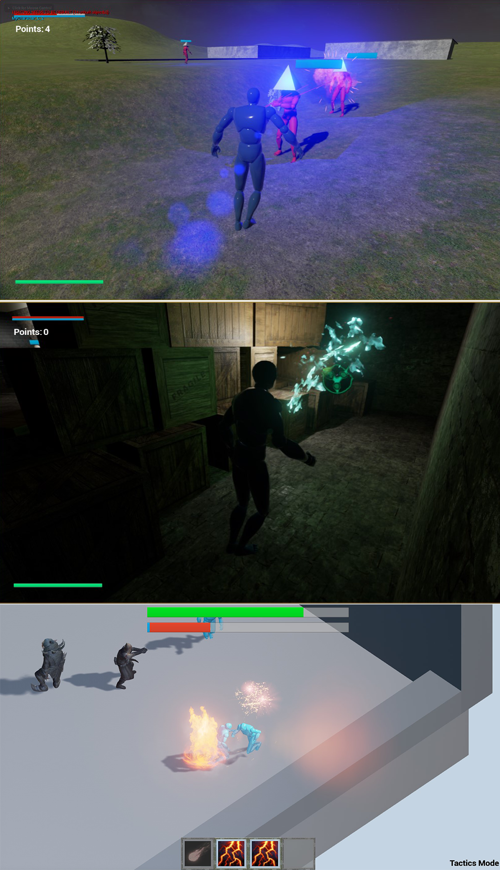 These are actual video games created by Baylor students in