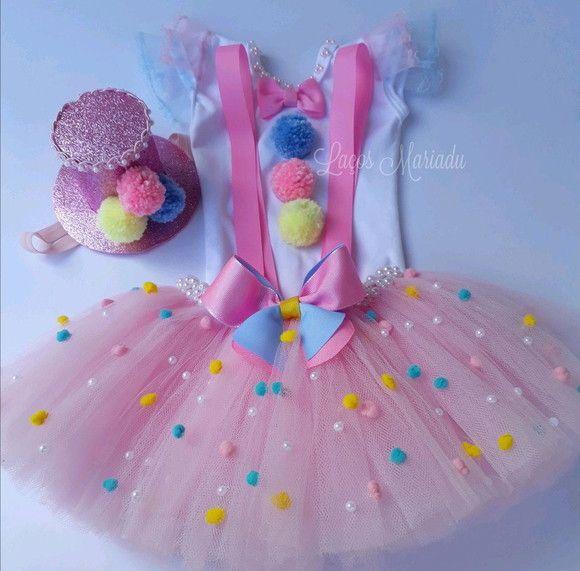72da9a7e4 Compre Kit tutu circo rosa ( luxo) no Elo7 por R  200