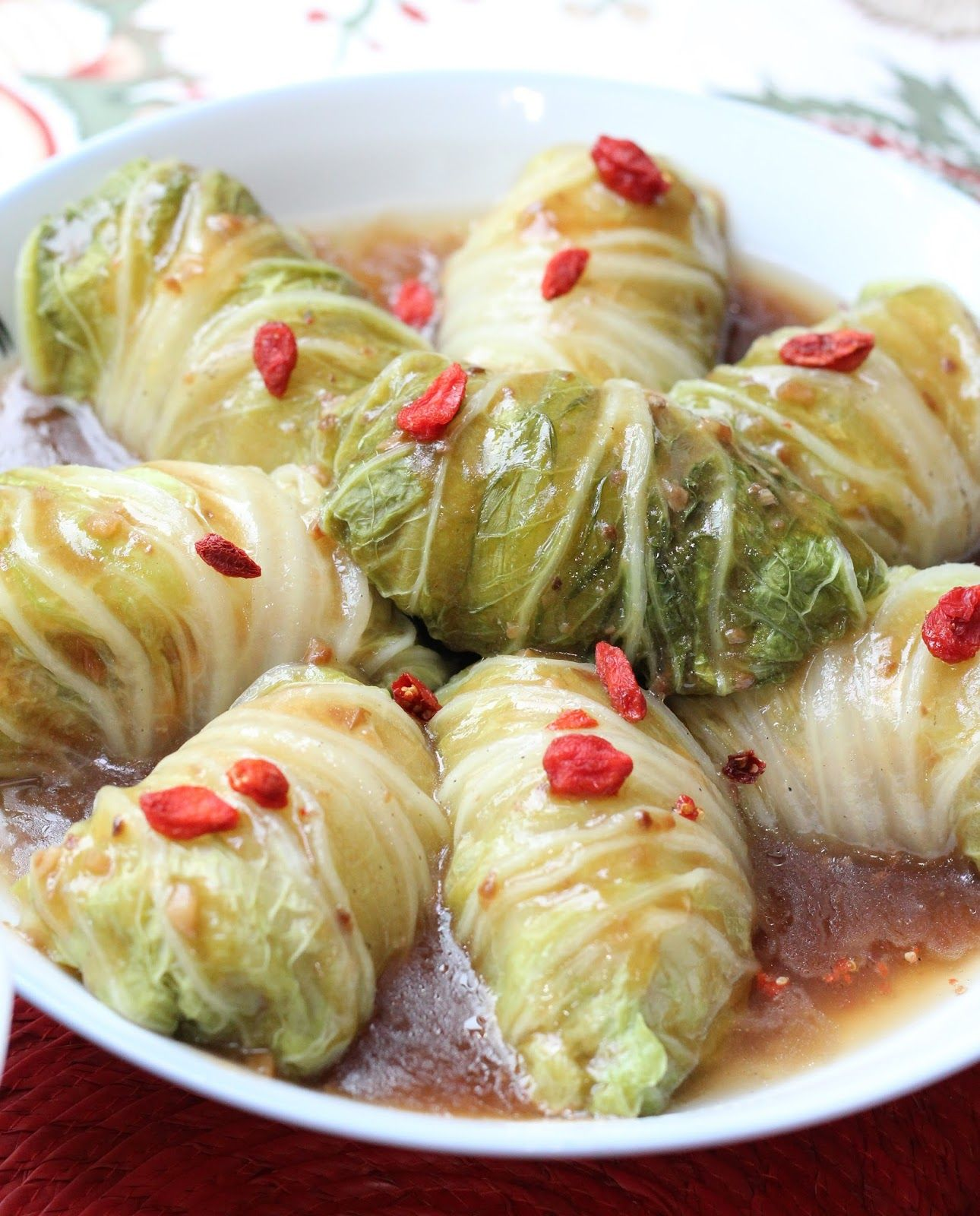Steamed Stuffed Meat Cabbage Roll Cabbage Rolls Pork And Cabbage Steam Recipes