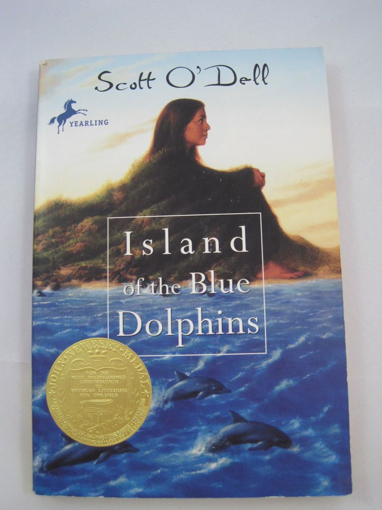 Island of the Blue Dolphins Scott O'Dell Yearling Paperback Fiction English