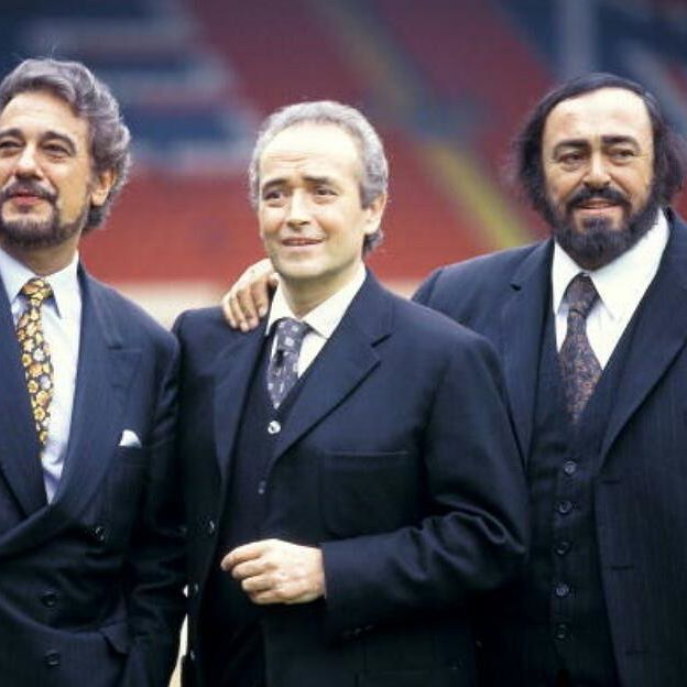 WEMBLEY Photo of @lucianopavarotti and Jose CARRERAS and ...