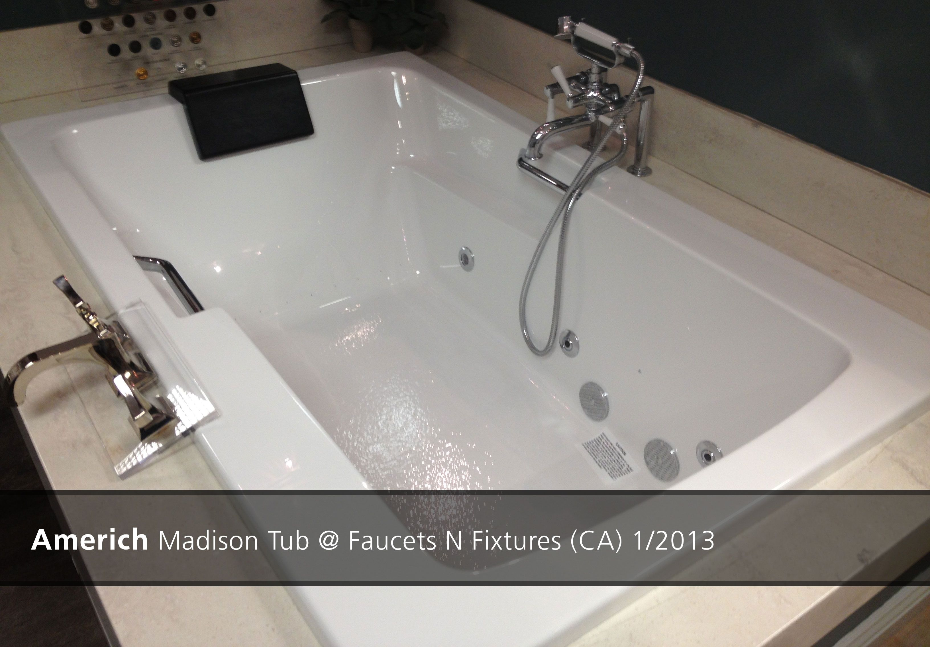Americh Madison Tub @ Faucets N Fixtures (CA) - 2013 | Showroom ...