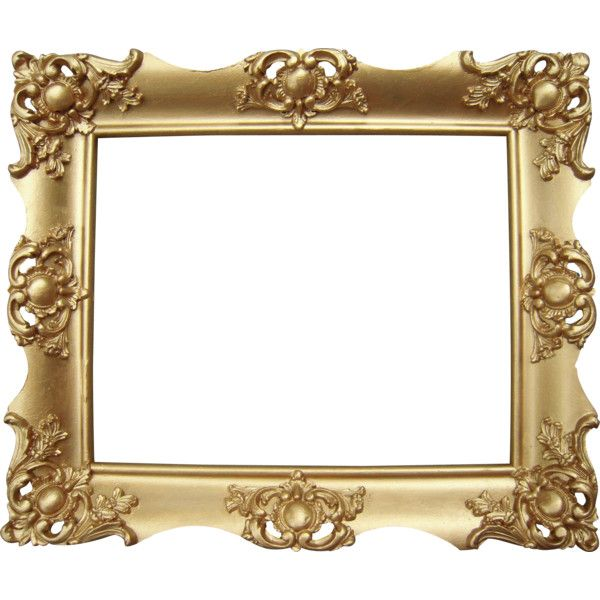 Ornate Gold Victorian Picture Frame 8\