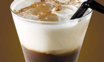 Cóctel de café frío sin alcohol