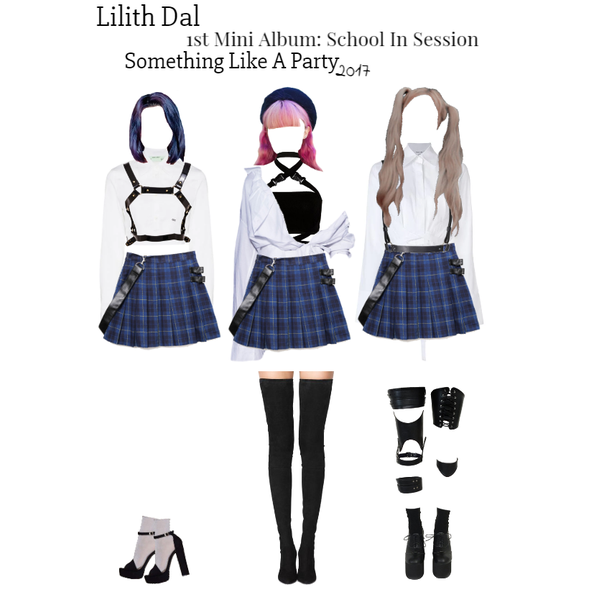 Fashion Set Oc Girl Group School In Session Era Created Via Kpop Fashion Outfits Fashion Stage Outfits