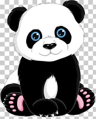 Ilustración De Panda Tía De Panda Gigante Lindo Panda De Dibujos Animados Png Clipart Cute Panda Cartoon Cartoon Panda Cute Panda Drawing