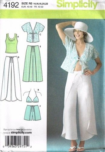 How to sew summer-wrap-around-pants - Instructables - Make, How To ...