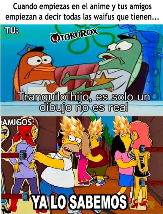 7u7r Kurox . anime meme en español Memes otakus, Memes