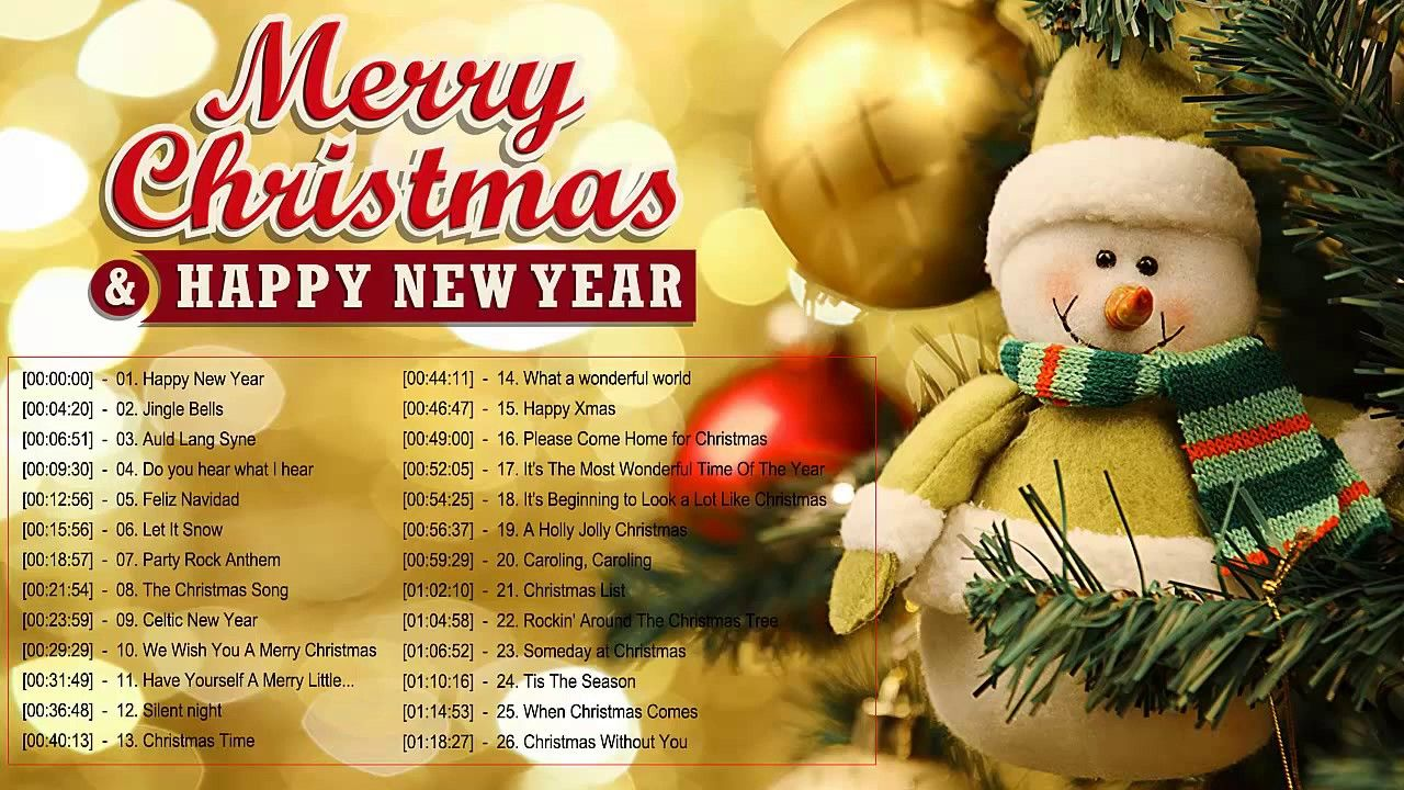 Merry Christmas And Happy New Year Songs 2020 Best New Year Songs Ever En 2020