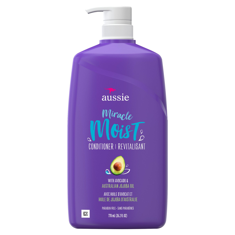 Aussie Miracle Moist Conditioner With Avocado Paraben Free 26 2 Oz Walmart Com Aussie Miracle Moist Aussie Miracle Moist Conditioner Aussie Hair Products
