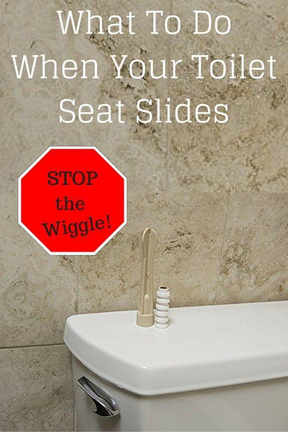 Toilet Seat Slides Fix Your Wobbly Toilet Seat For Good Toilet Seat Toilet Seating