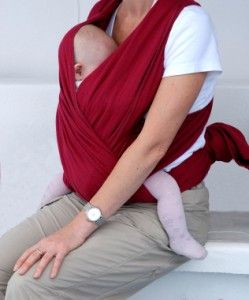 a1ec8ae4202 This DIY baby sling closely resembles the Moby Wrap. I highly recommend  wraps to anyone who wants to hold their baby close as they are comfortable  and easy ...