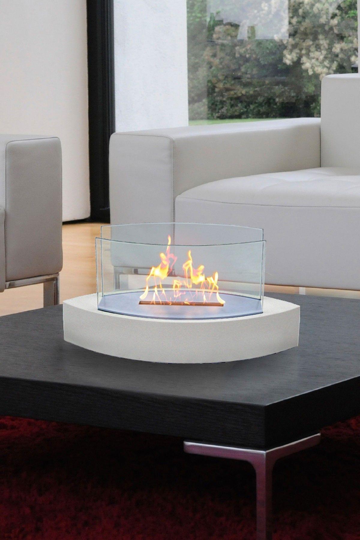 Table top indoor fireplace love it pinterest indoor