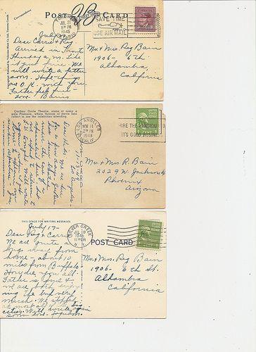 Postcard Backs 2 | Flickr - Photo Sharing!