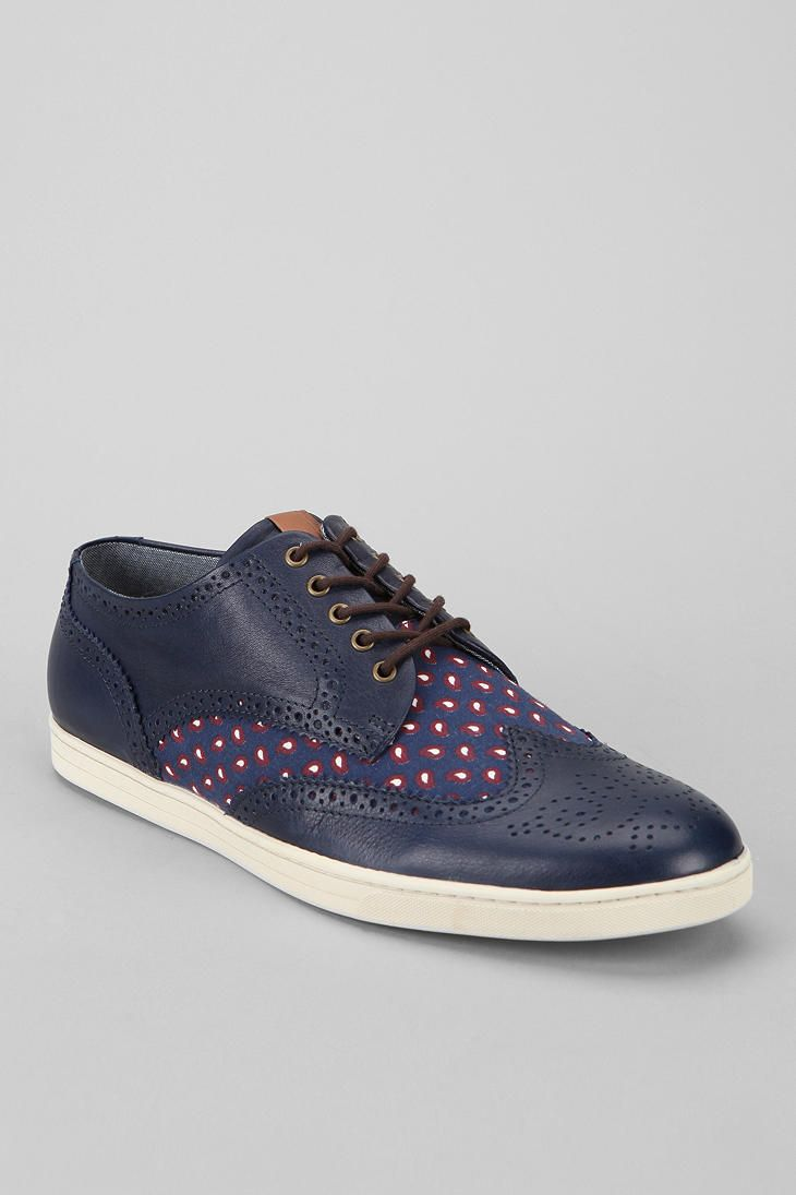 fe8ec1c03ce3 Updated wing tip oxford from Fred Perry.  urbanoutfitters