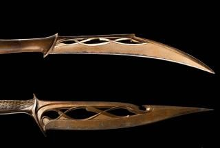 The Hobbit The Desolation Of Smaug Mirkwood Elven Daggers Weta