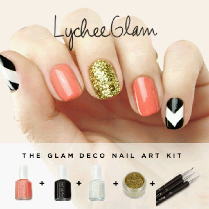 Great Prices On The Nail Kits Lychee Glam All In One Art Kit