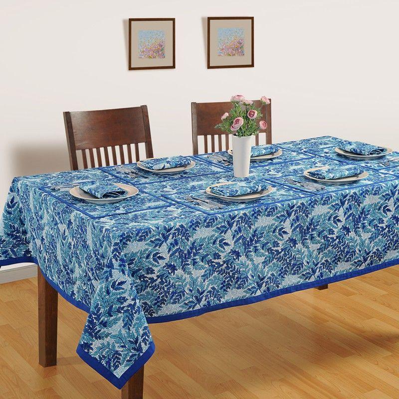 Get Aqua Leaf Designer Dining Room Table Covers Online With