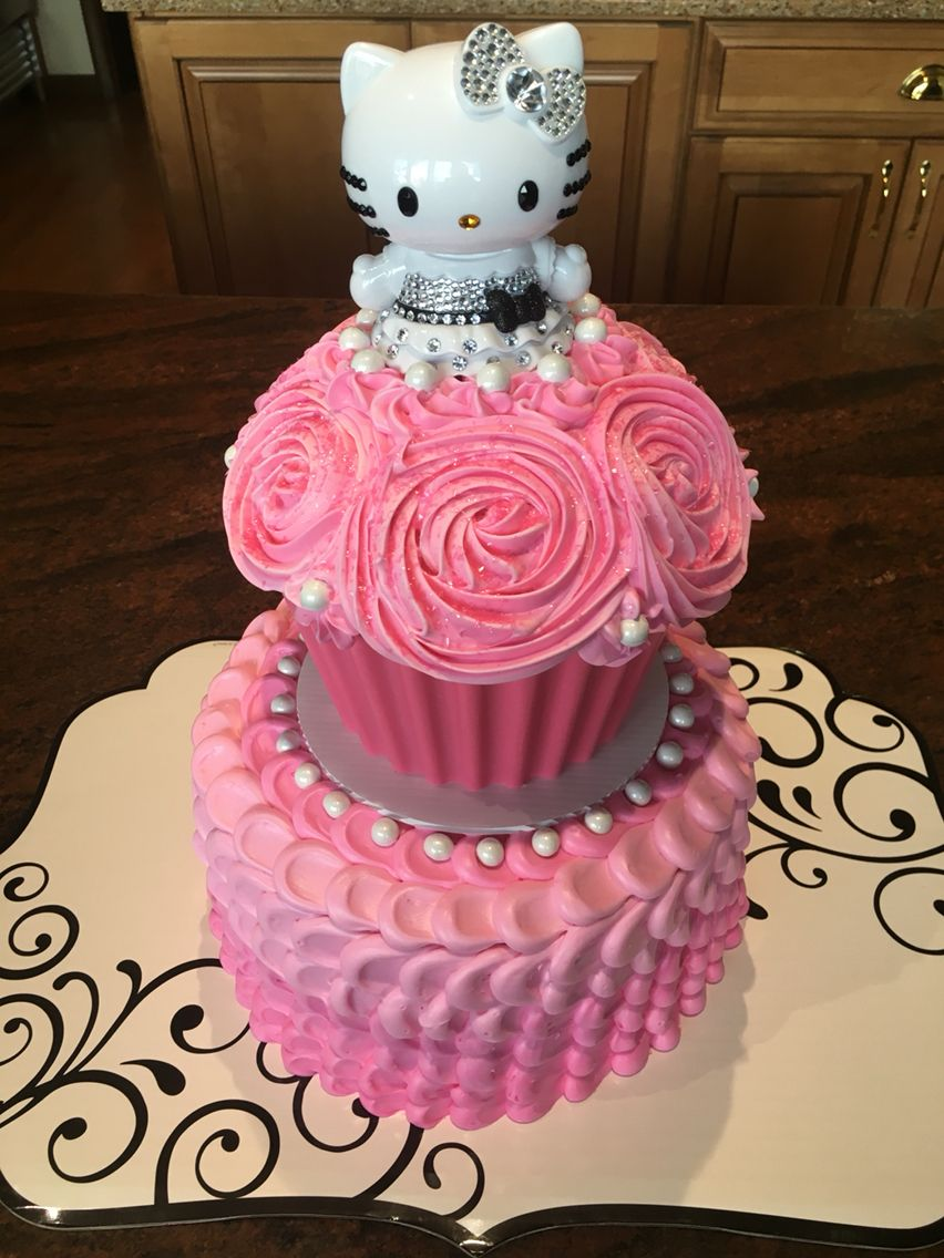 Hello Kitty Cake | Hello kitty cake, Cat cake, Princess ...