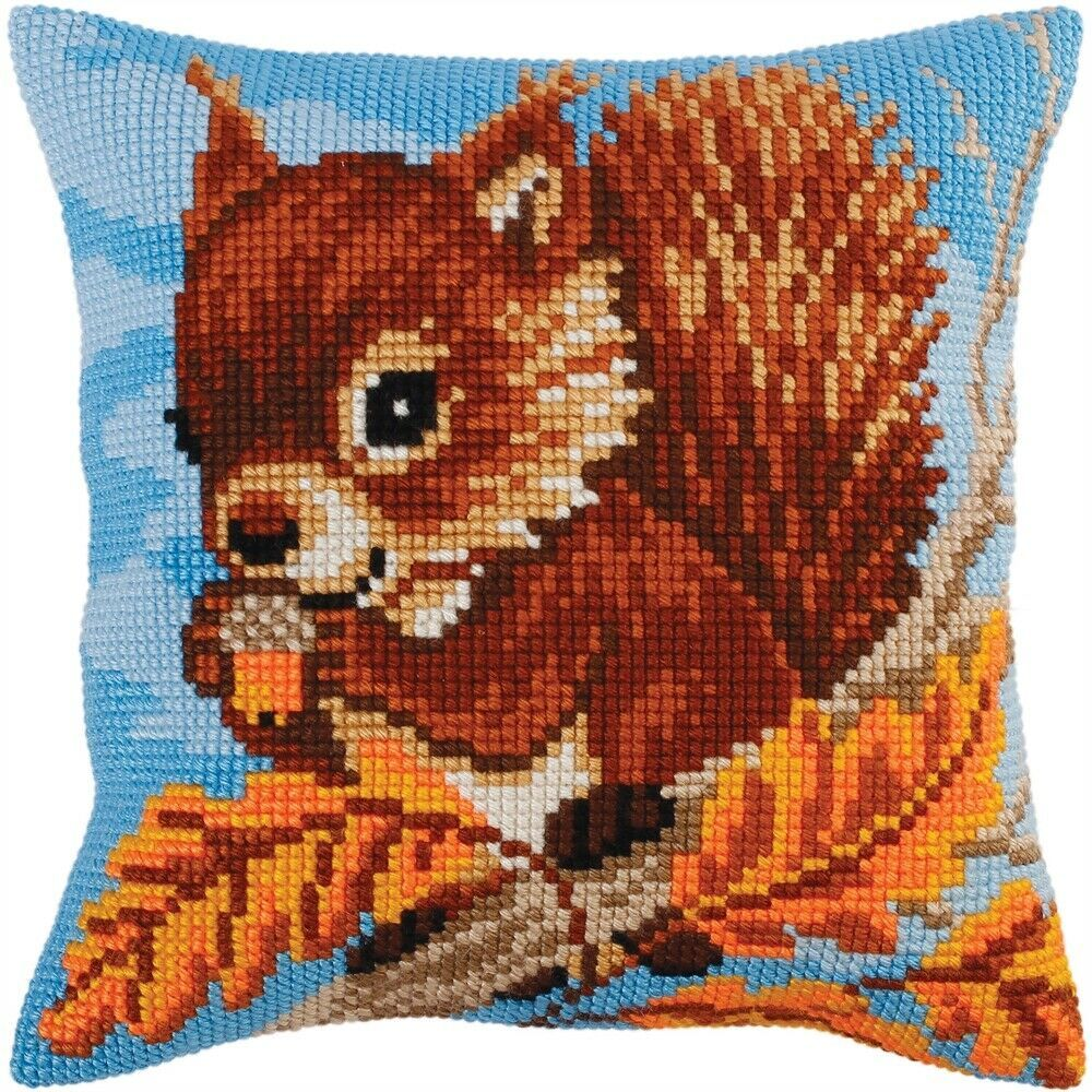Collection D/'Art Stamped Needlepoint Cushion Kit 40X40cm-Dogs On The Armchair
