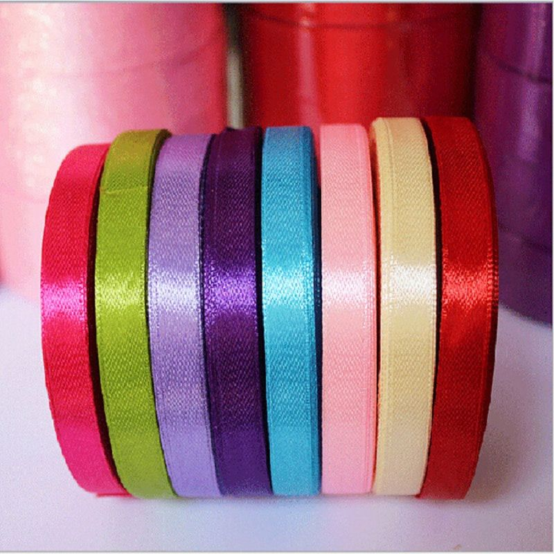 New Elegant Colorful Satin Ribbon Wedding Party Craft Sewing Decorations Hair Accessories Cloth Tape DIY #>=#>=#>=#>=#> Click on the pin to check out discount price, color, size, shipping, etc. Save and like it!