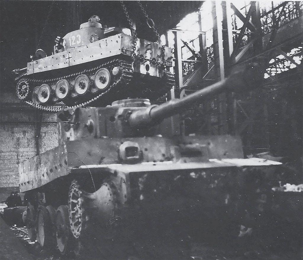 Производство танков тигр в картинках