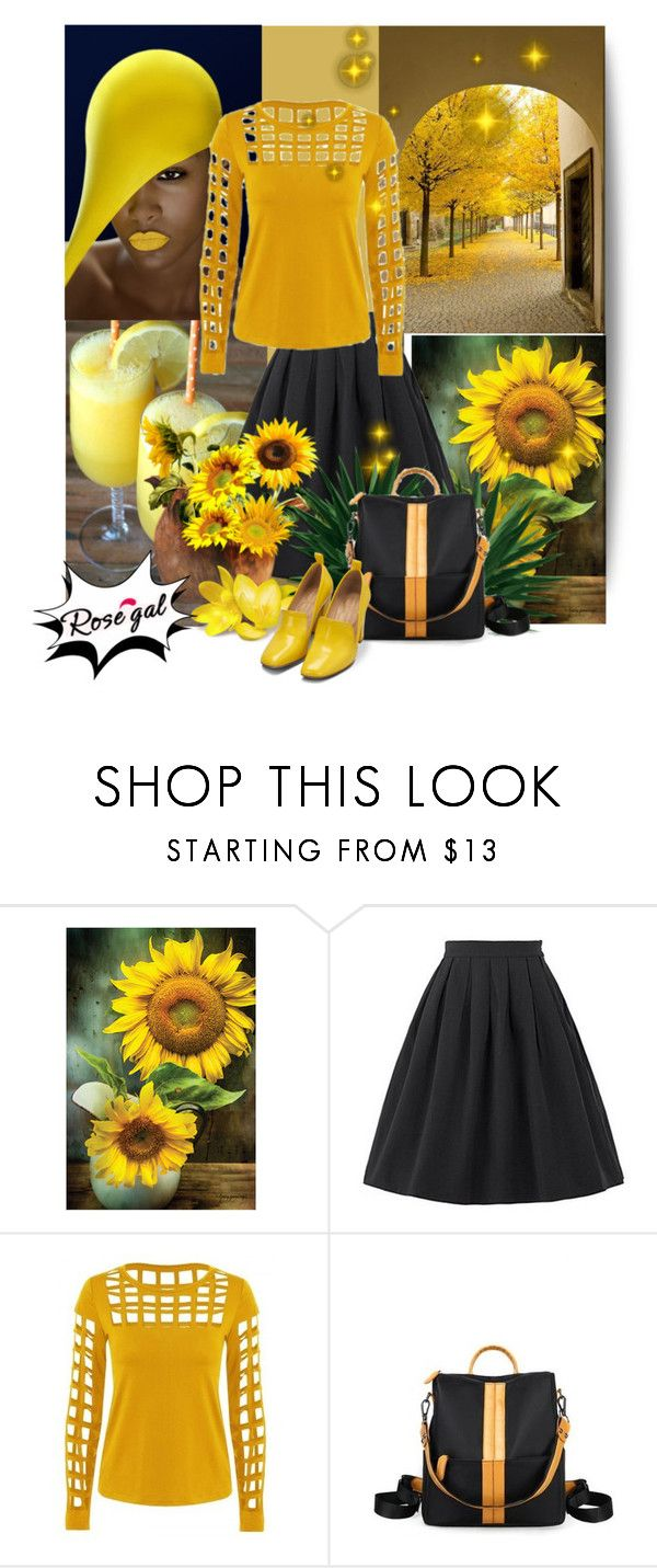 """Rosegal 47"" by marinadusanic ❤ liked on Polyvore featuring Bill Blass and vintage"