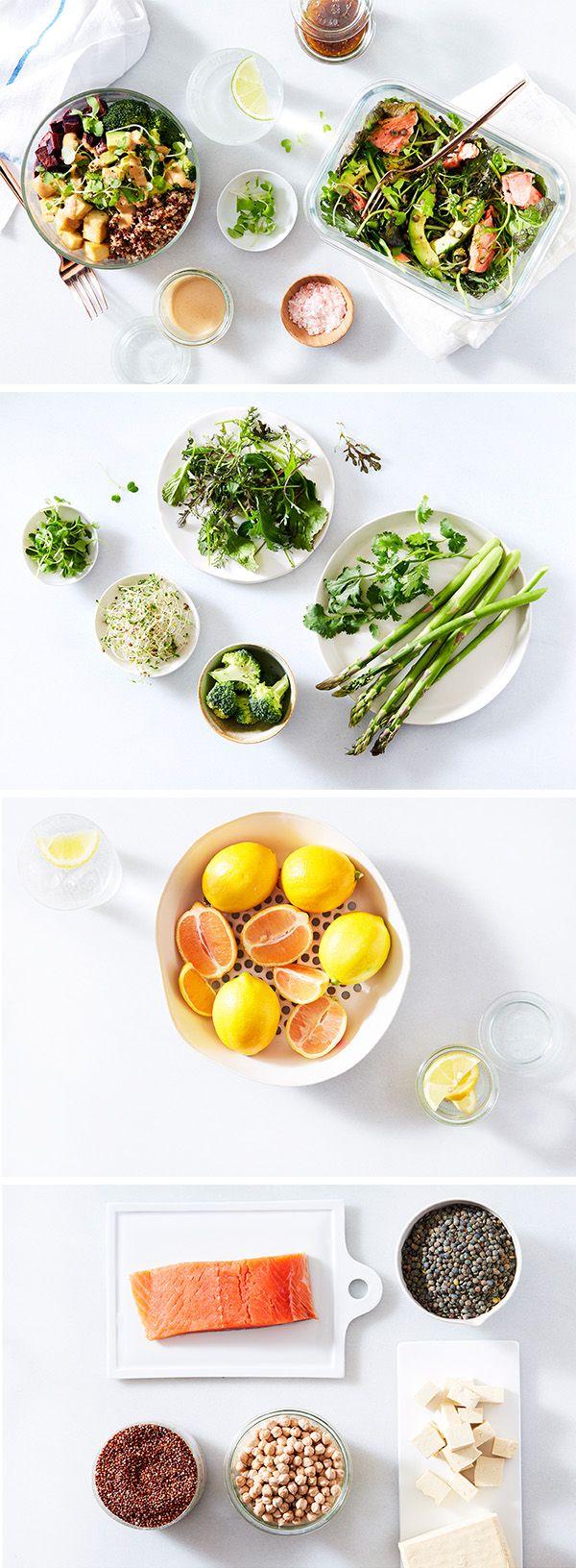 5 essentials for a perfect work lunch Вегетарианские