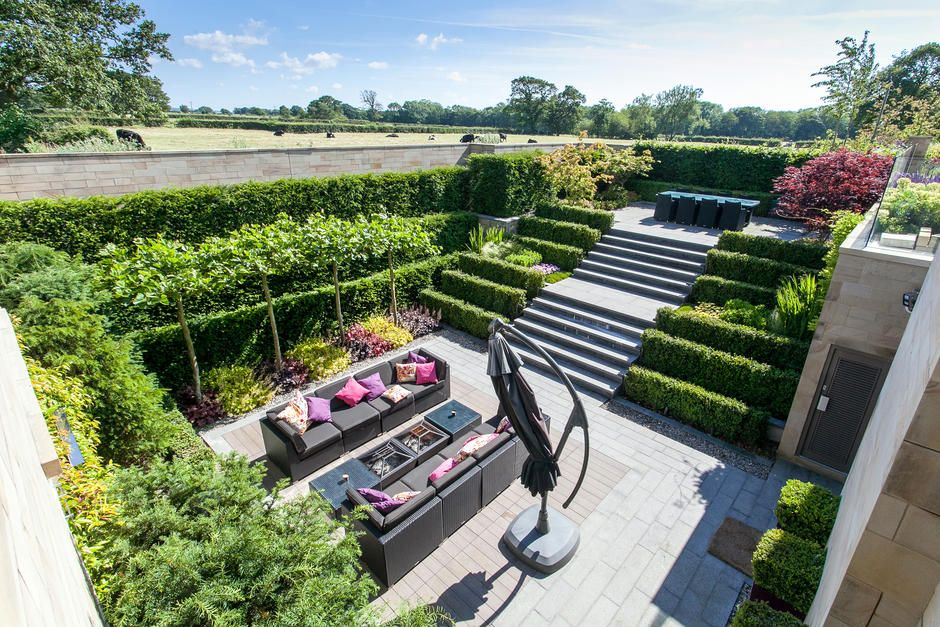 Salisbury House Northern Design Awards Friday 21st November 2014 Garden Living Rural House Garden Design