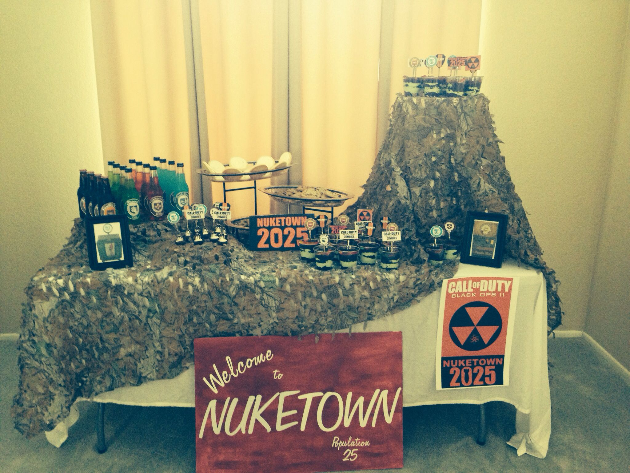 Call of duty black ops 2 zombies birthday party demetre birthday call of duty black ops 2 zombies birthday party filmwisefo Image collections