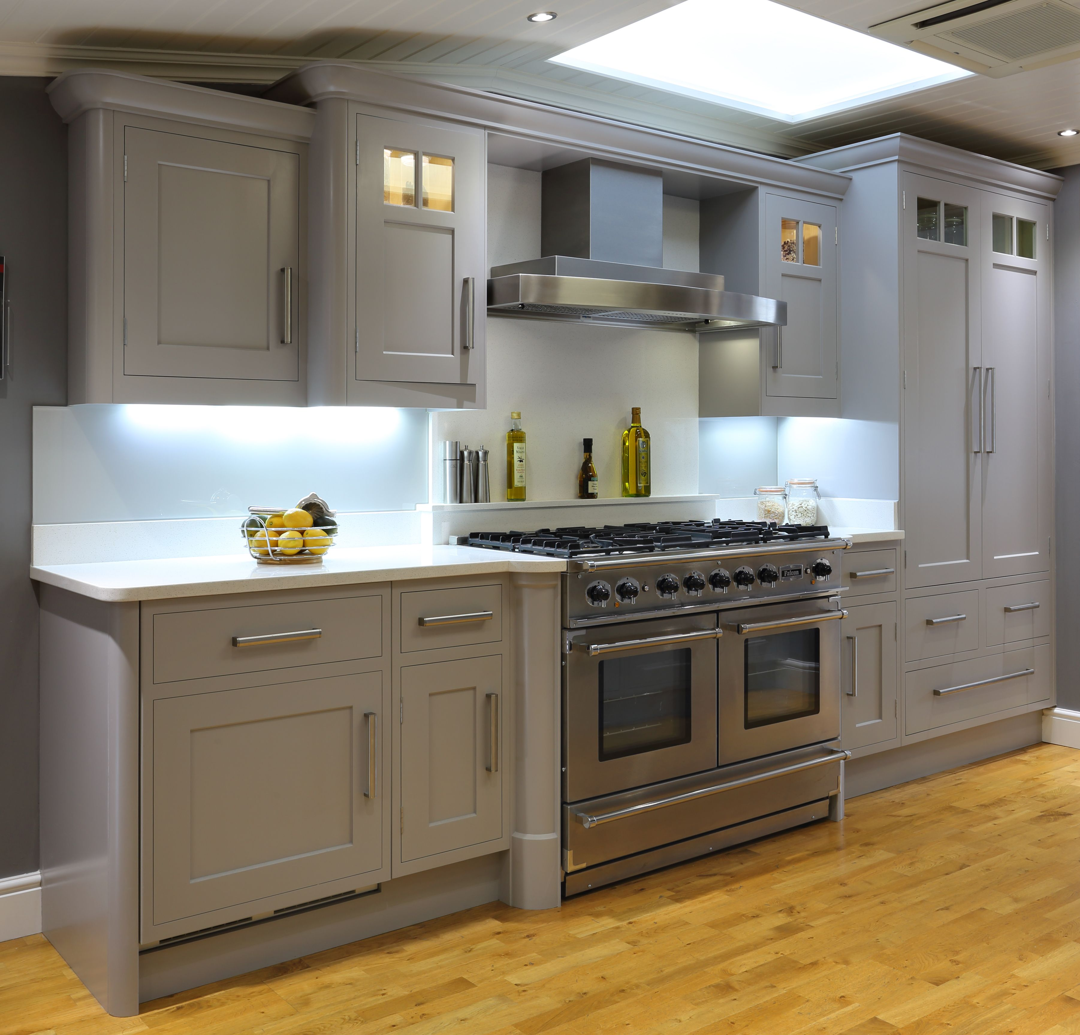 falcon cooker and westin cooker hood  kitchen design