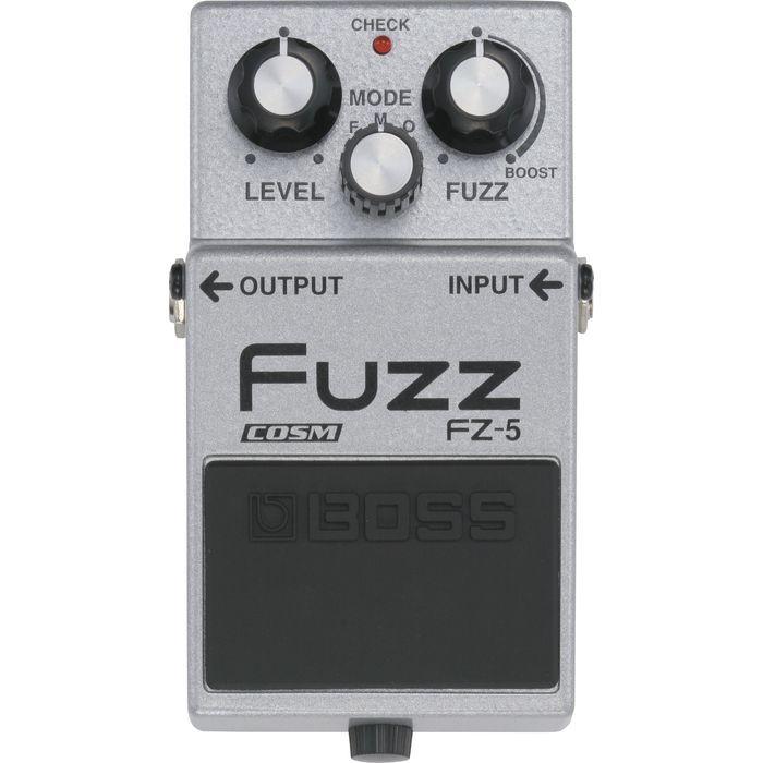 Pedale FUZZ BOSS FZ-5. Riproduce fedelmente le caratteristiche e la qualita' sonora di tre effetti Fuzz vintage degli anni '60 e '70.