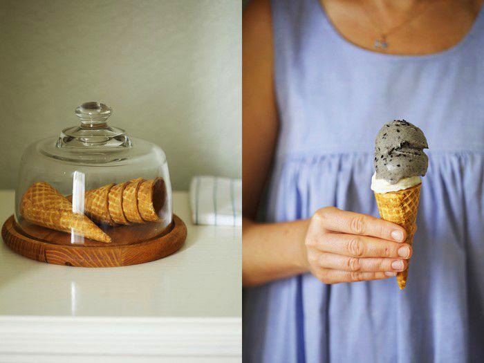 helado de sésamo negro y jengibre #foodtomeetyou