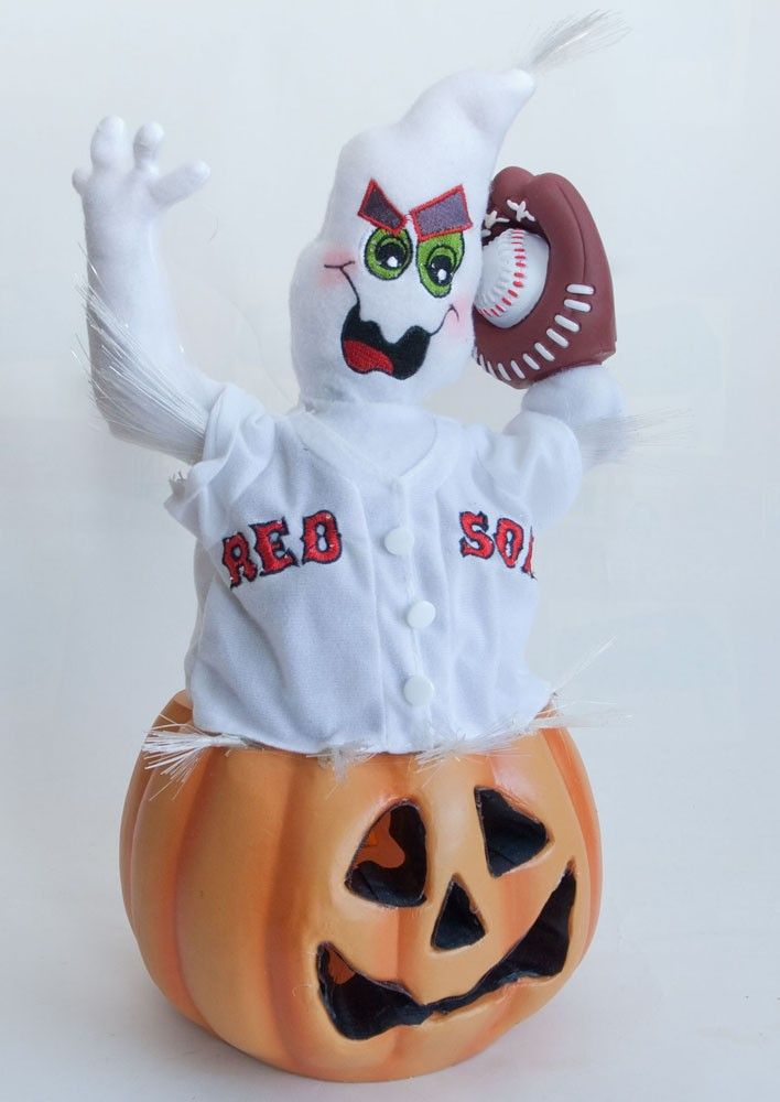 check out this light up fiber optic boston red sox halloween decoration - Light Up Halloween Decorations