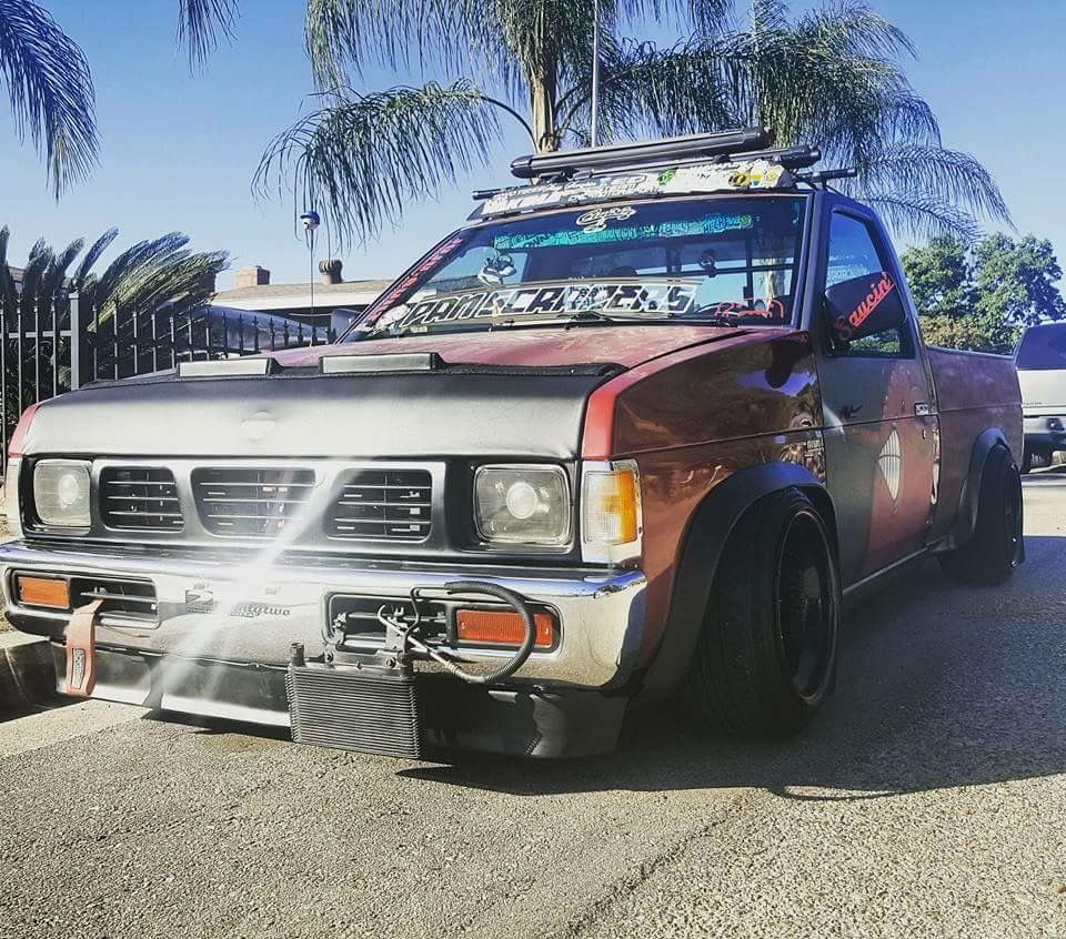 Toyota Hilux Mk4 MiniTruck Pickup SingleCab Modified Lowered Slammed