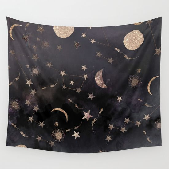 Constellations++Wall+Tapestry+by+Nikkistrange+-+$39.00