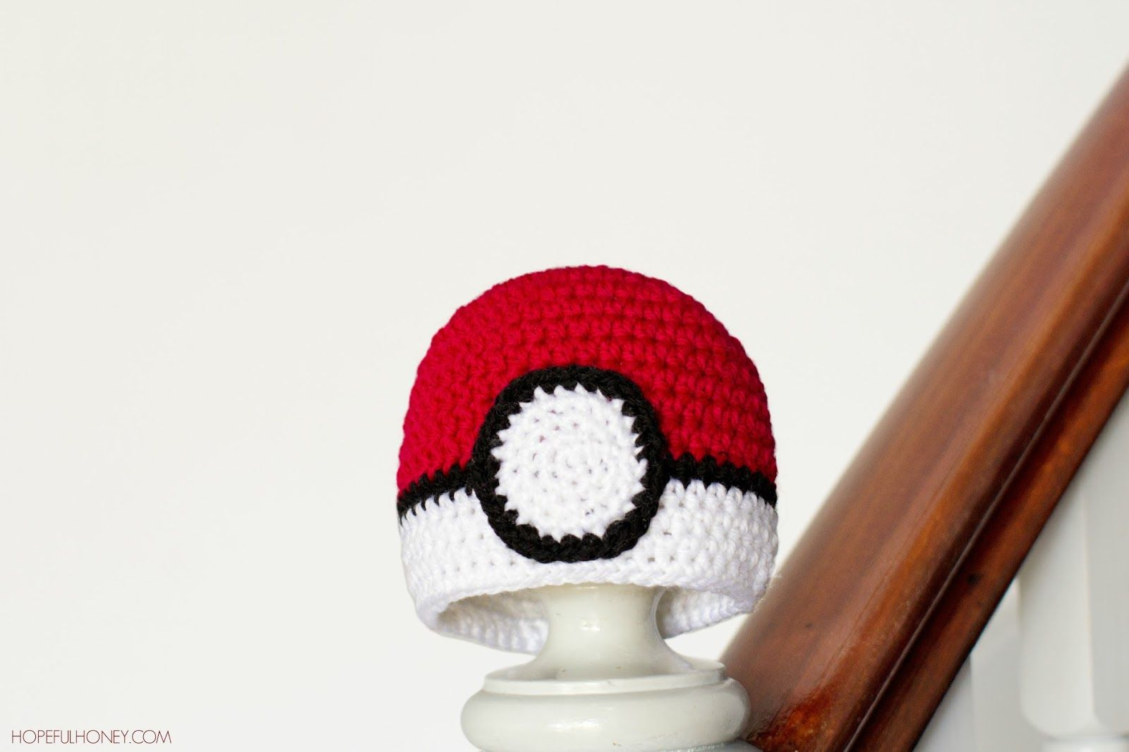 Pokémon Pokéball Inspired Baby Hat - Free Crochet Pattern | Mel ...