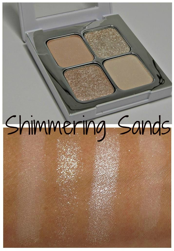 Sonia Kashuk Shimmering Sands eyeshadow quad + swatches | Makeup ...