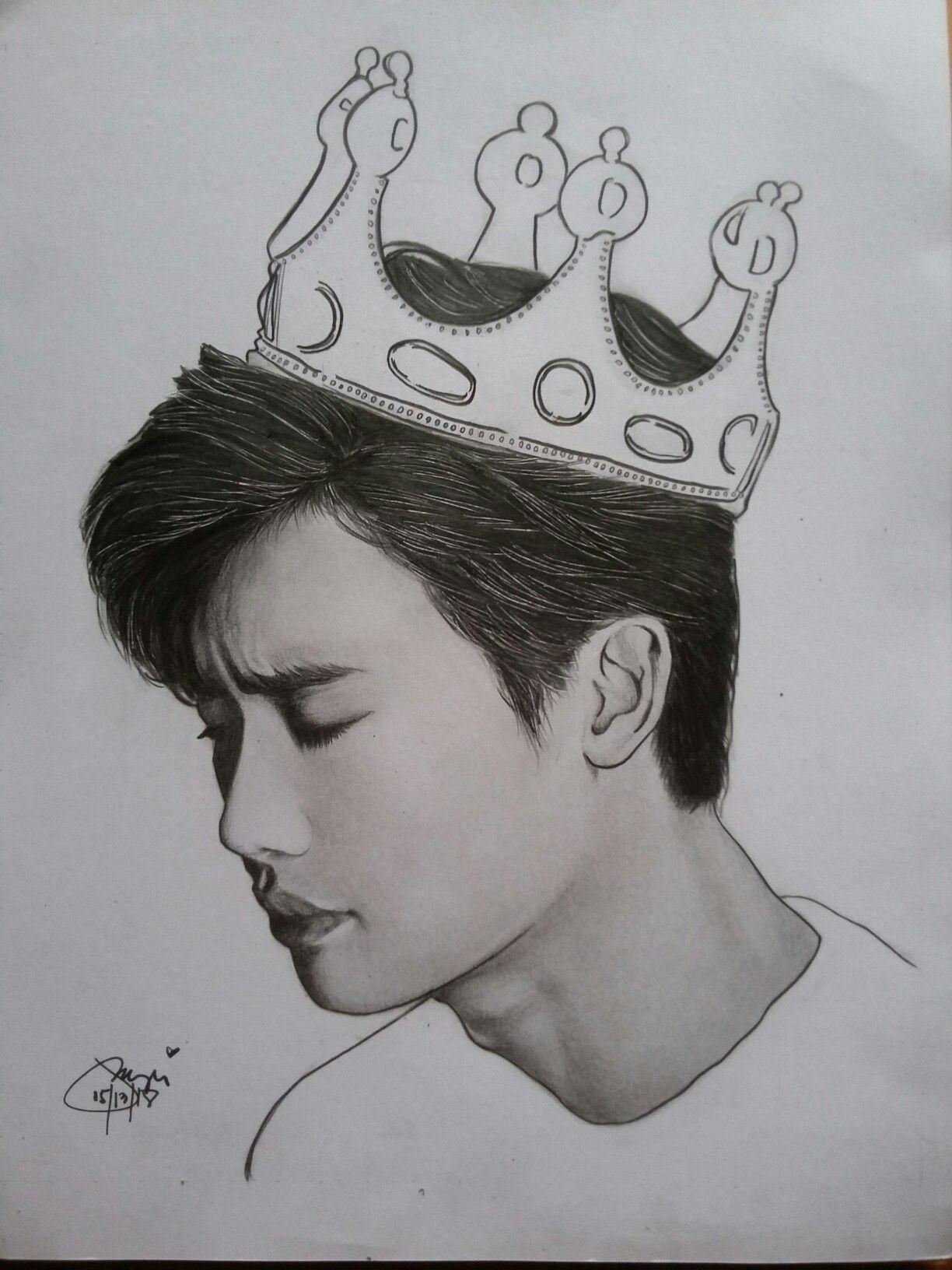 Lee Jong Suk Drawings Art Male Sketch