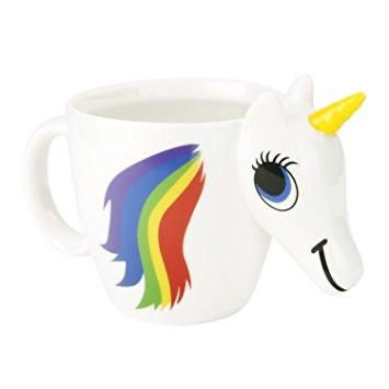 Original 3d Unicorn Color Changing Ceramic Coffee Tea Mug Multi
