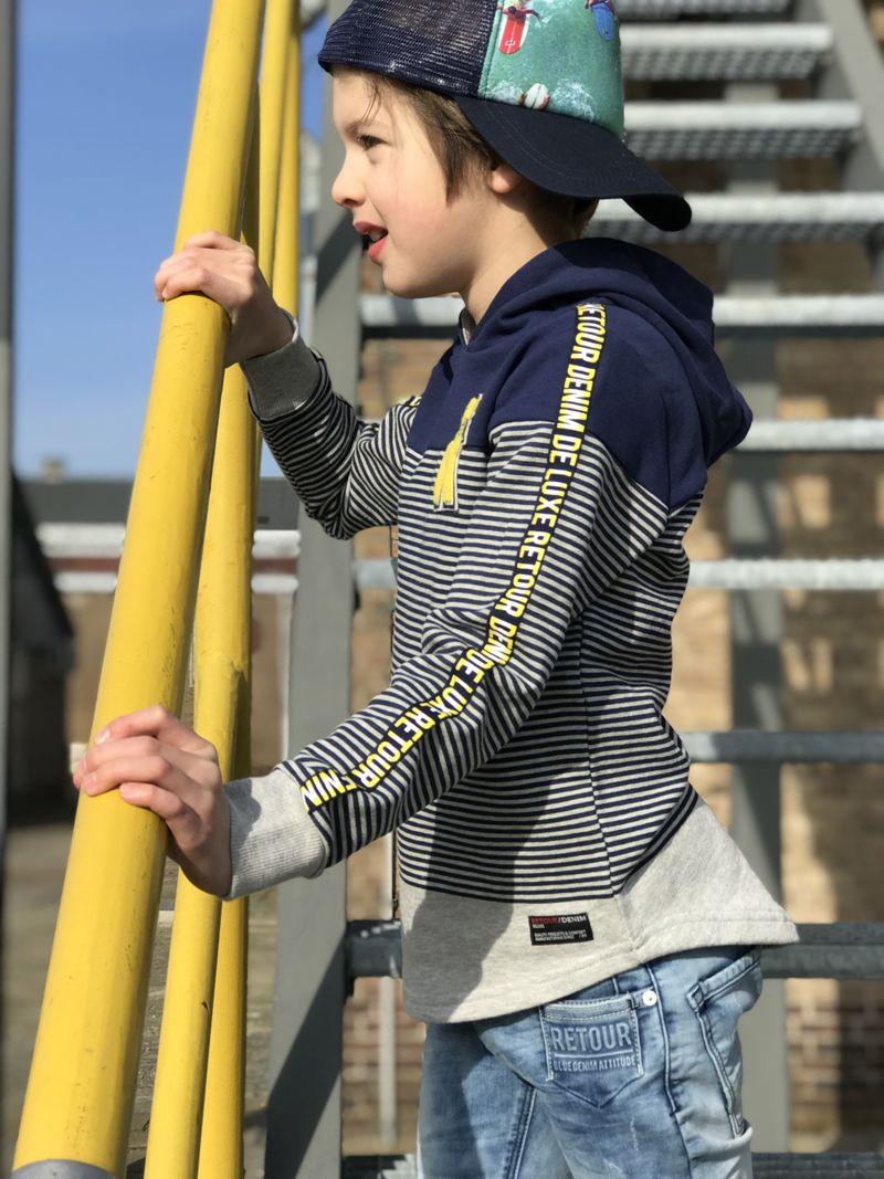Review Kinderkleding.Cool Kid In Cool Denim Look Retour Jeans Review Madrid Kids